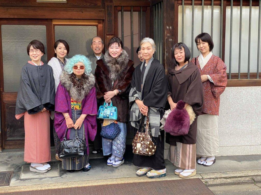 きもの会イベント参加者